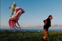 Красочные воздушные змеи на острове Гоцо (Видео)