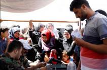 В Сирию за сутки вернулись более 820 беженцев