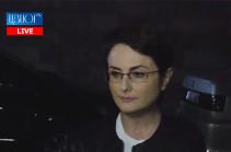 Ակնկալում էի դատարանի առջև տեսնել այն մարդկանց, ում խախտված իրավունքները վերականգնել է Արսեն Բաբայանը. Լիկա Թումանյան