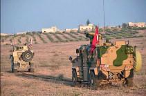 Թուրքիան հայտարարել է Սիրիայում գործողությունների դադարեցման մասին