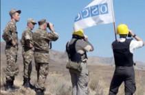 ԵԱՀԿ-ն դիտարկում է իրականացրել Արցախի և Ադրբեջանի սահմանին