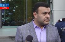 Специальная следственная служба не представила суду  показание бывшего руководителя  аппарата КС, которое оправдывает Арсена Бабаяна