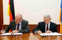 ՀՀ և ԳԴՀ կառավարությունների միջև ֆինանսական համագործակցության մասին համաձայնագիր է ստորագրվել