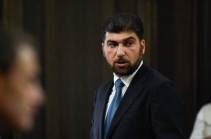 Criminal case filed over car accident with the involvement of Davit Sanasryan