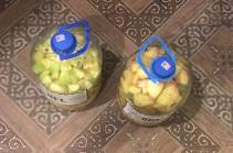 «Հրազդան» ՔԿՀ-ի խցերից մեկում հայտնաբերվել է 10 լիտր ինքնաթոր ոգելից խմիչք (Lուսանկարներ)