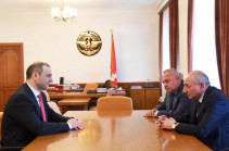 Armenia's Security Council Secretary meets with Artsakh President