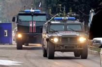 На север Сирии переброшен дополнительный контингент и техника РФ