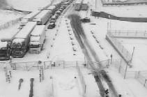 Stepantsminda-Lars closed for all kinds of vehicles