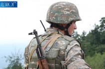 Հակառակորդը հայ դիրքապահների ուղղությամբ արձակել է շուրջ 1600 կրակոց. ՊԲ