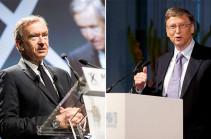 Բիլ Գեյթսը զիջել է երկրորդ տեղը աշխարհի ամենահարուստ մարդկանց վարկանիշում