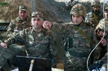 ՊԲ հրամանատարն այցելել է հյուսիսային ուղղությամբ գործող զորամասերից մեկը