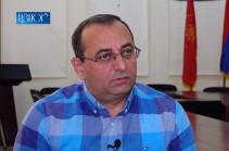 ARF-D Supreme Body representative Artsvik Minasyan is at investigative body