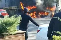 В кафе в Бишкеке взорвались баллоны с газом (Видео)