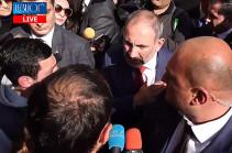 Я не согласен с вашими требованиями и оценками – Никол Пашинян об отставке Араика Арутюняна