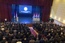 Արայիկ Հարությունյանը վերընտրվեց «Ազատ Հայրենիք» կուսակցության նախագահի պաշտոնում
