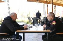 Armenia's PM, Artsakh President meet in Goris