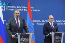 Զոհրաբ Մնացականյանը շնորհակալություն հայտնեց ՌԴ գործընկերոջը՝ Սիրիայի հայ բնակչությանն աջակցելու համար
