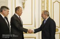 В результате изменений отношения между нашими странами получили новую динамику – Никол Пашинян принял главу МИД РФ Сергея Лаврова