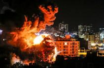 В секторе Газа отменили занятия в школах после израильского удара