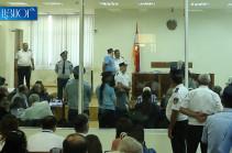 Суд под председательством Анны Данибекян удалился в совещательную комнату