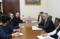 Տիգրան Խաչատրյանը հանդիպել է Միջազգային ֆինանսական կորպորացիայի (ՄՖԿ) տարածաշրջանային ղեկավարին