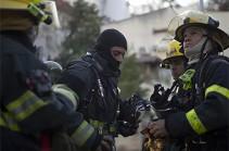 Իսրայելում գործարան է այրվում՝ Գազայի հատվածից հրթիռակոծությունից հետո