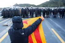 Կատալոնիայի անկախության կողմնակիցներն ագելափակել են Ֆրանսիայի հետ սահմանին գտնվող ճանապարհը