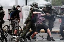 В чилийском Сантьяго протестующие напали на посольство Аргентины