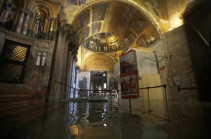 Venice floods: Italian city hit by highest tide in 50 years