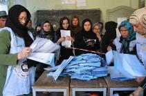 Объявление предварительных итогов выборов президента Афганистана отложили