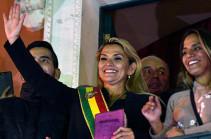 Բոլիվիայի ժամանակավոր նախագահը նախարարնրի նոր կաբինետ է նշանակել