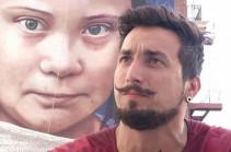 Գրետա Տունբեր. Որմնանկար՝ Սան Ֆրանցիսկոյում (Տեսանյութ)