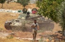 Սիրիական բանակը Իդլիբում երկու գյուղ է հետ գրավել ահաբեկիչներից