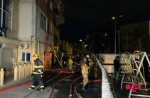 Բաքվի բազմահարկ շենքերից մեկում բռնկված հրդեհի հետևանքով 11 մարդ է տուժել