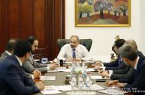 Премьер-министру представлен отчет о деятельности Фонда государственных интересов Армении