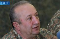 Мовсес Акопян освобожден от должности главного военного инспектора