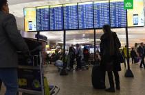 Более 40 рейсов задержаны и отменены в аэропортах Москвы