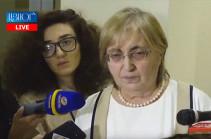 Չի կարող դատարանը կախված լինել մի խումբ անձանցից. Ալվինա Գյուլումյան
