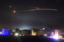 Israel hits 'dozens of Iranian and Syrian targets'