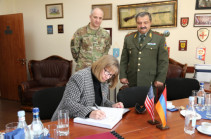 U.S. Ambassador visits Armenia's Defense Ministry's NDRU, highly values its effective activity