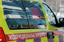Ղազախստանում ավտոմեքենան բախվել է կանգառին, երեք մարդ զոհվել է