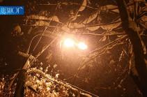 В Армении ожидаются осадки в виде мокрого снега