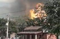 В Аргентине пять человек погибли при пожаре на сахарном заводе (Видео)