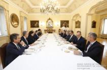 Վարչապետը Իտալիայի գործարար շրջանակներին է ներկայացրել Հայաստանի ներդրումային հնարավորությունները