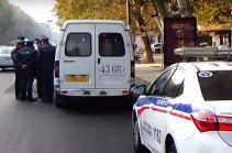 Երևանում «գազելների» վարորդների մոտից հայտնաբերվել են դանակներ (Տեսանյութ)