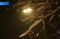 Տավուշի և Լոռու մարզերում ձյուն է տեղում
