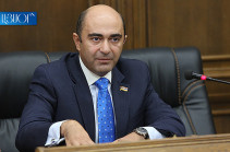 Bright Armenia faction head urges government radically review proportional territorial development policy until it is too late