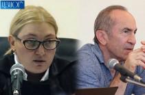 Քոչարյանի և մյուսների գործով մեղադրող դատախազ Կարեն Բիշարյանին բացարկ հայտնելու միջնորդությունը մերժվեց