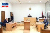 Court hearing of lawsuit of ex-Republican lawmaker Khosrov Harutyunyan against lawmaker Arman Babajanyan launches