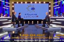 «Հայաստան» հիմնադրամի հեռուստամարաթոնին նվիրաբերվել է շուրջ 10 մլն դոլար